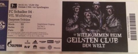Schalke ticket