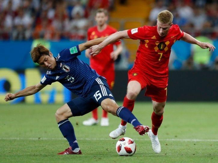 Japan vs Belgium