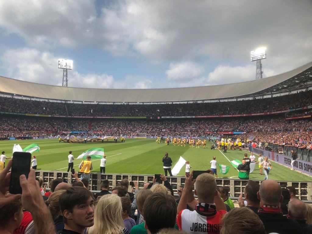 Groundhopper Feyenoord Rotterdam Football Foyer
