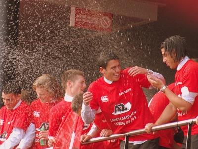 AZ Alkmaar title celebrations in 2009.